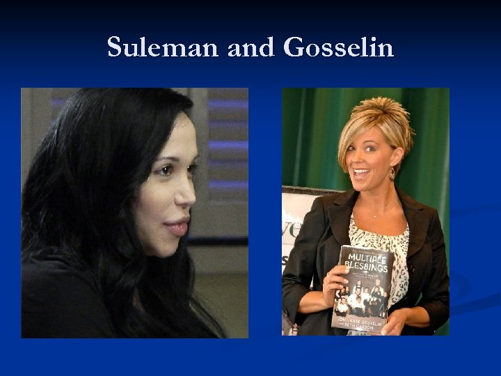 Suleman and Gosselin