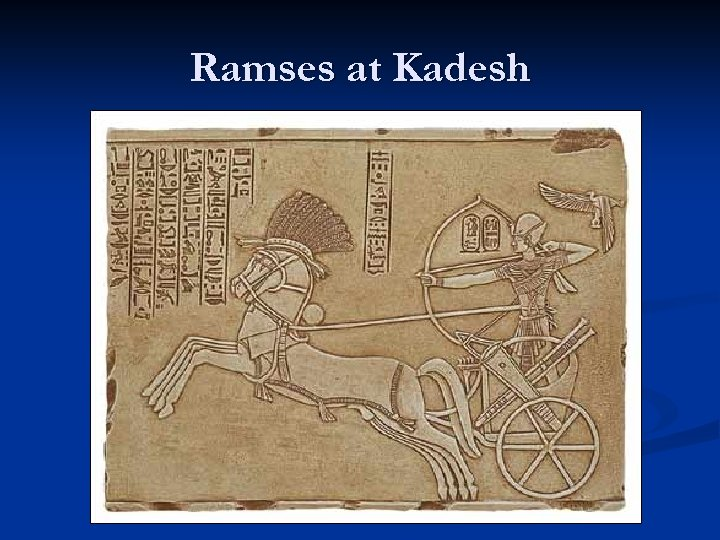 Ramses at Kadesh