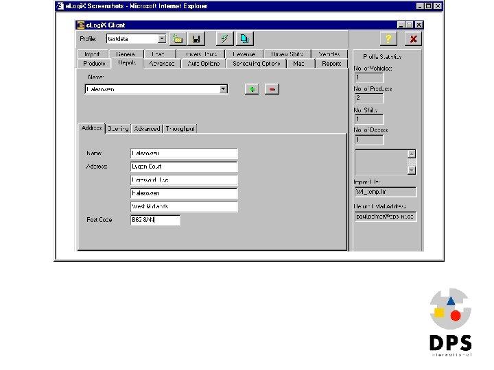Elogix 1 Elogi. X Profile generator