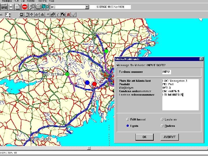 Track-Logi. X send information