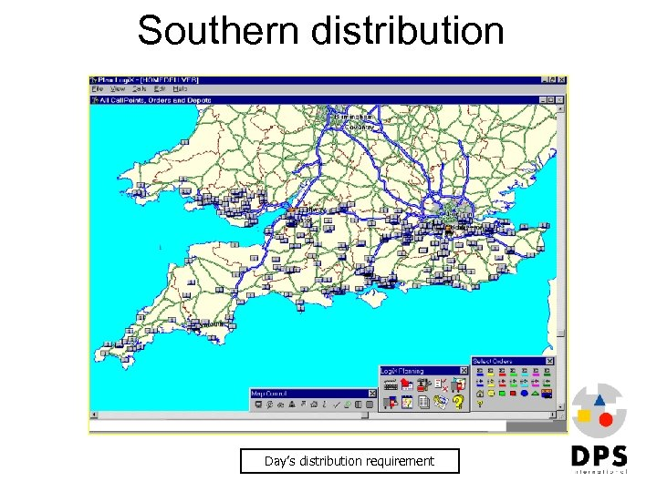 Southern distribution Day's distribution requirement