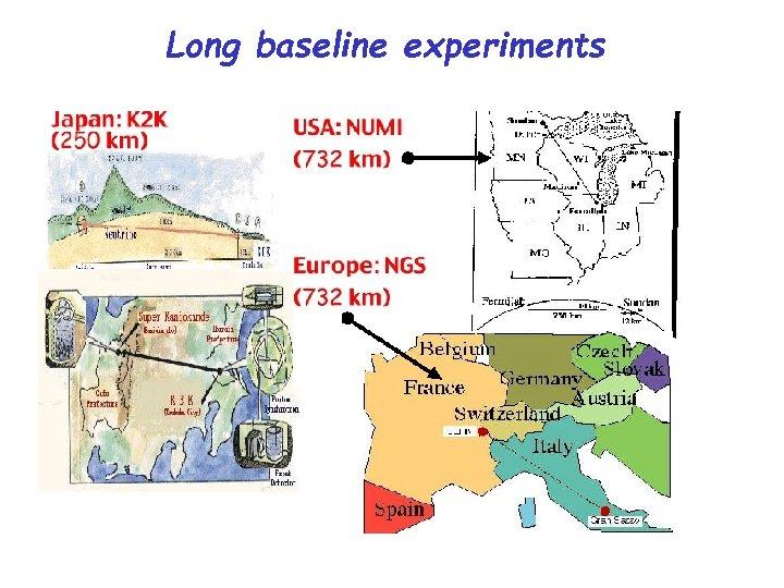 Long baseline experiments