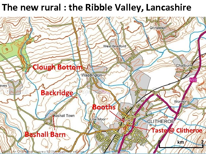 The new rural : the Ribble Valley, Lancashire Clough Bottom Backridge Booths Bashall Barn