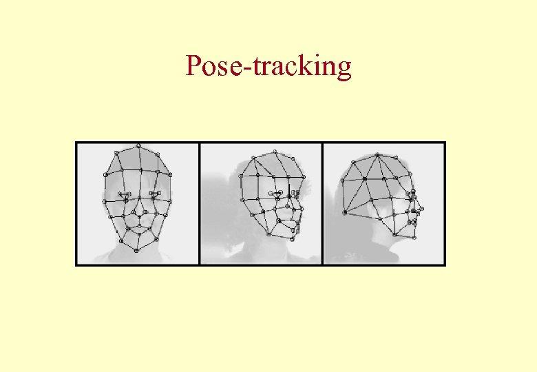 Pose-tracking