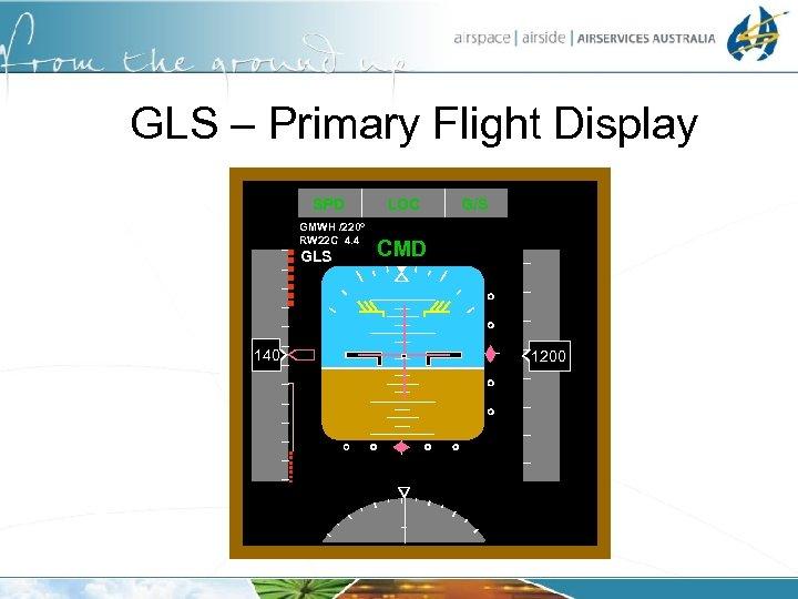 GLS – Primary Flight Display SPD GMWH /220 o RW 22 C 4. 4