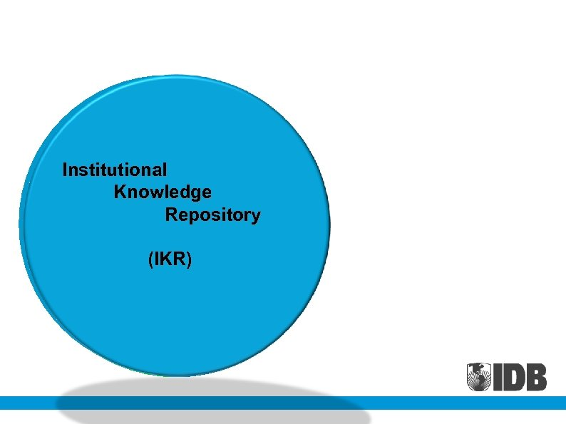 Search Controlled Institutional Engine Vocabulary Knowledge Repository (IKR)Governance Platform & Management