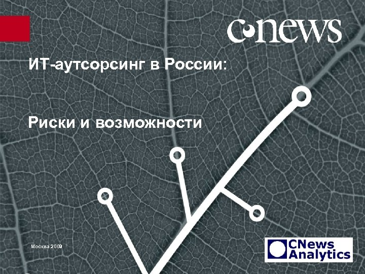 ИТ-аутсорсинг в России: Риски и возможности Москва 2009