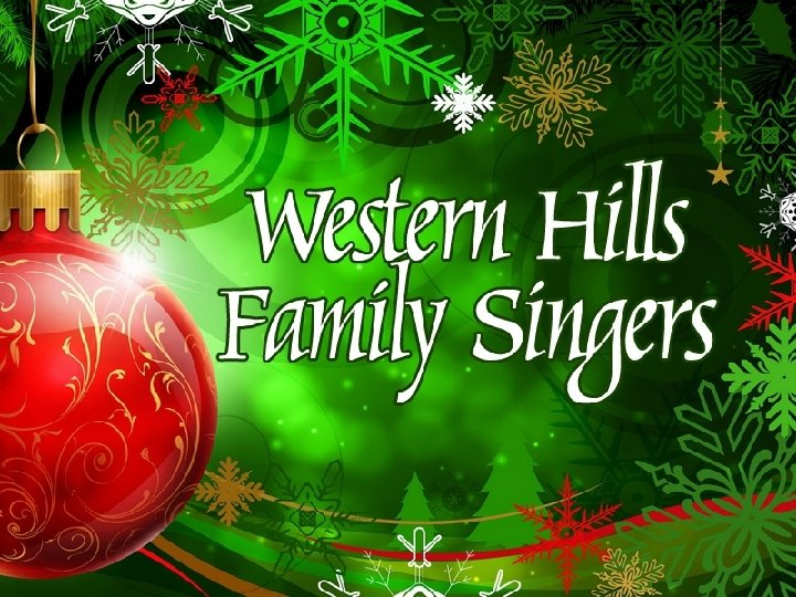 Western Hills Family Singers
