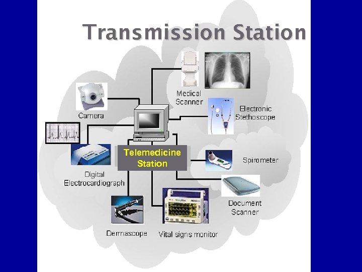 Transmission Station Telemedicine Station