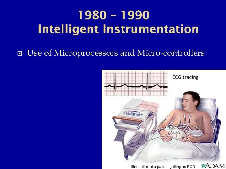 1980 – 1990 Intelligent Instrumentation Use of Microprocessors and Micro-controllers