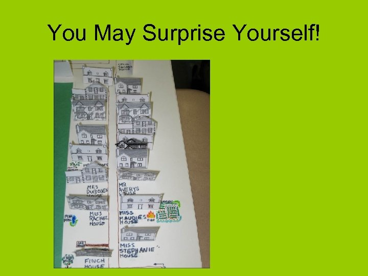 You May Surprise Yourself!