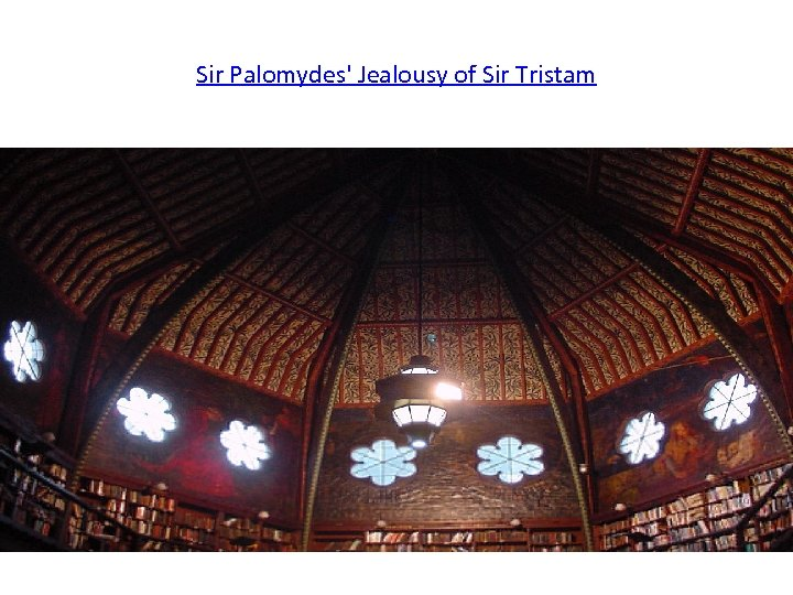 Sir Palomydes' Jealousy of Sir Tristam
