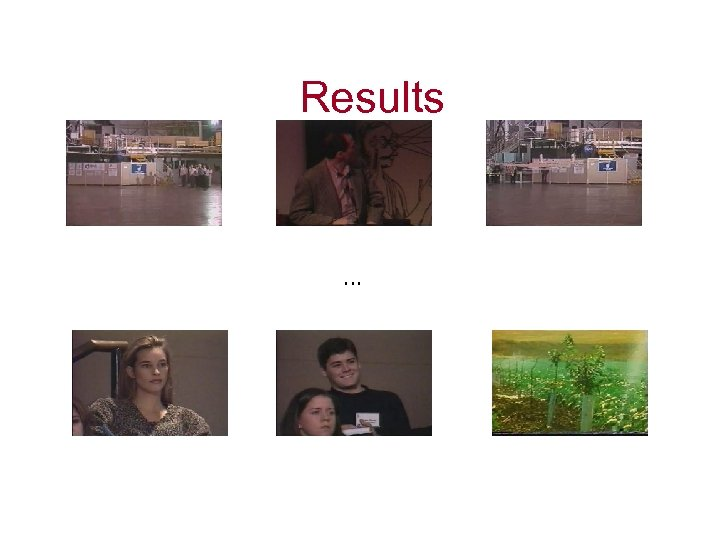 Results …