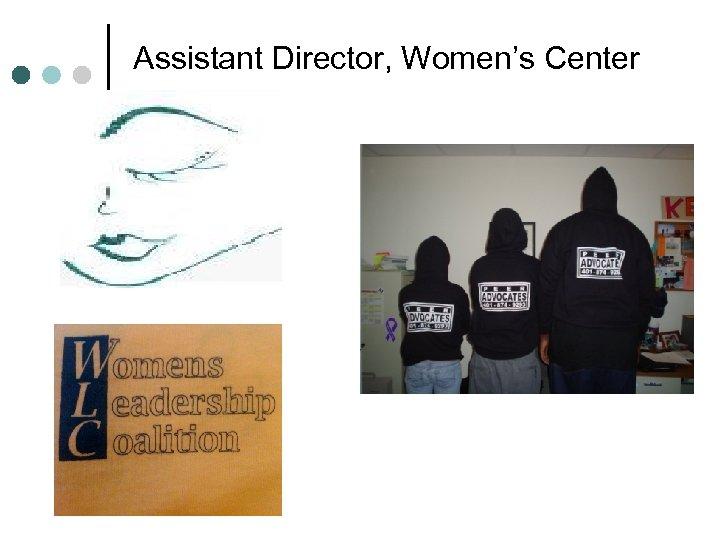 Assistant Director, Women's Center