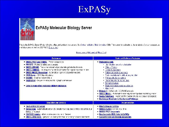 Ex. PASy
