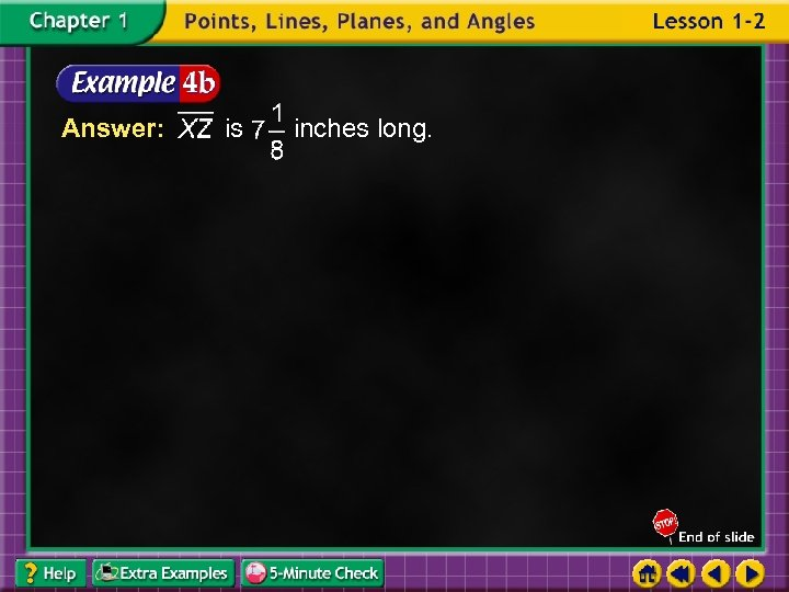 Answer: is inches long.