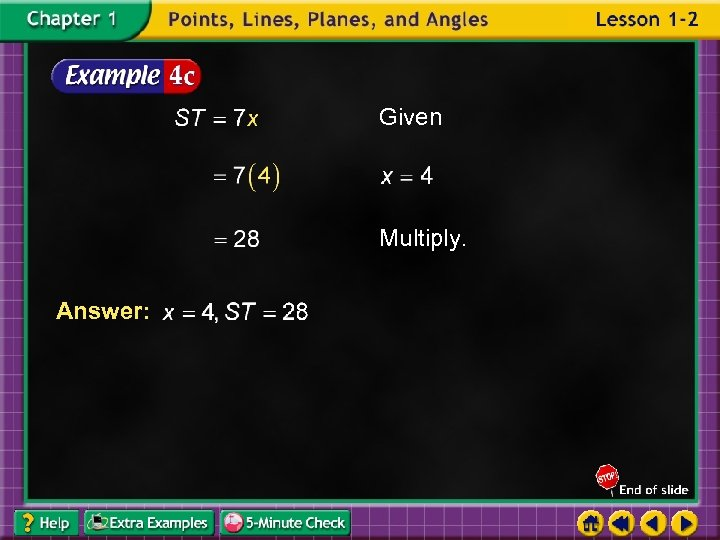 Given Multiply. Answer: