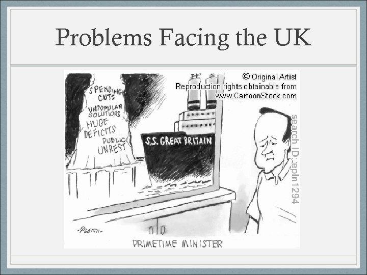 Problems Facing the UK