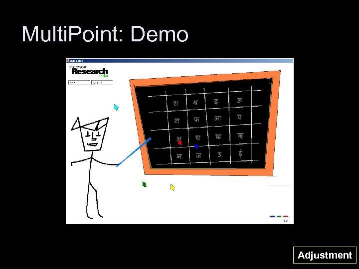 Multi. Point: Demo Adjustment