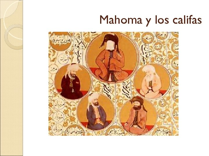 Mahoma y los califas