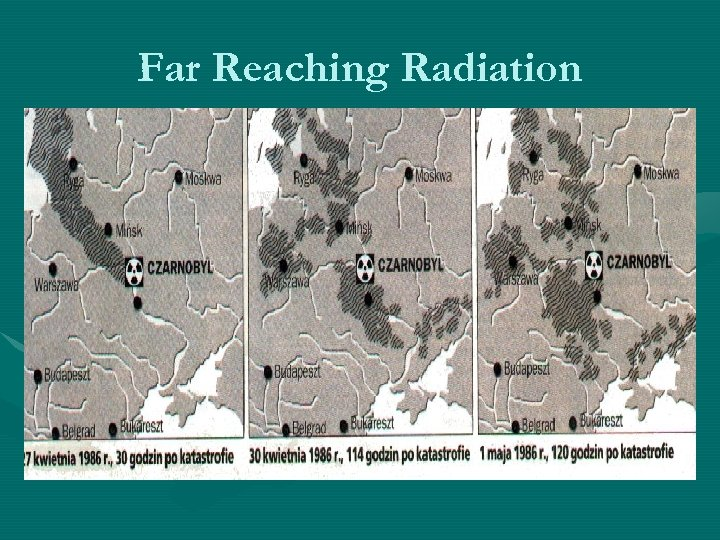 Far Reaching Radiation