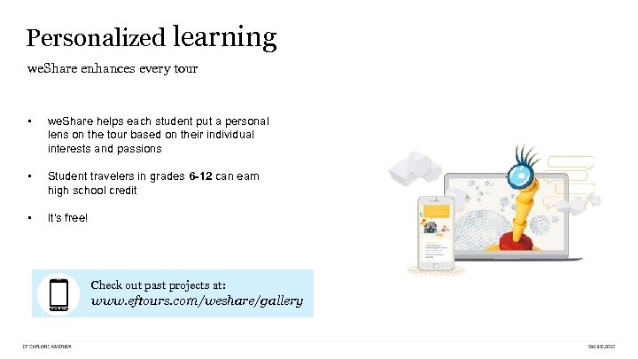 Personalized learning we. Share enhances every tour • we. Share helps each student put