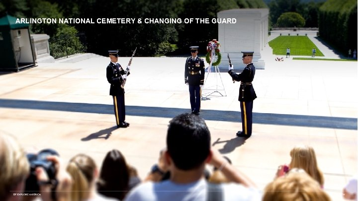 ARLINGTON NATIONAL CEMETERY & CHANGING OF THE GUARD