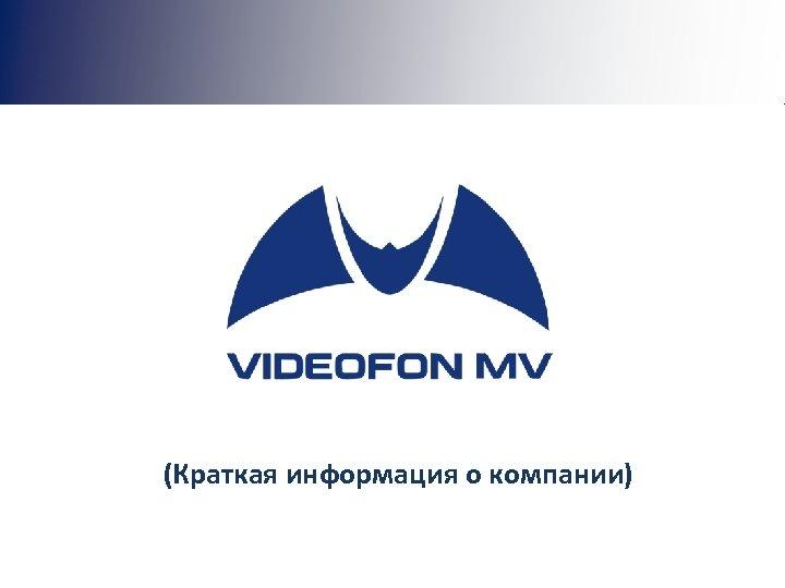 (Краткая информация о компании)