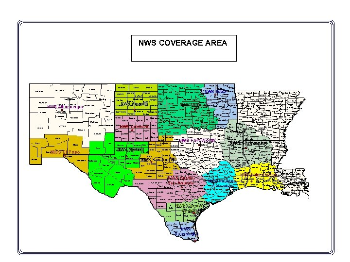 NWS COVERAGE AREA