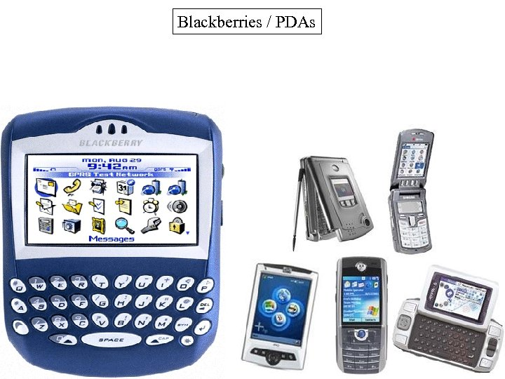 Blackberries / PDAs