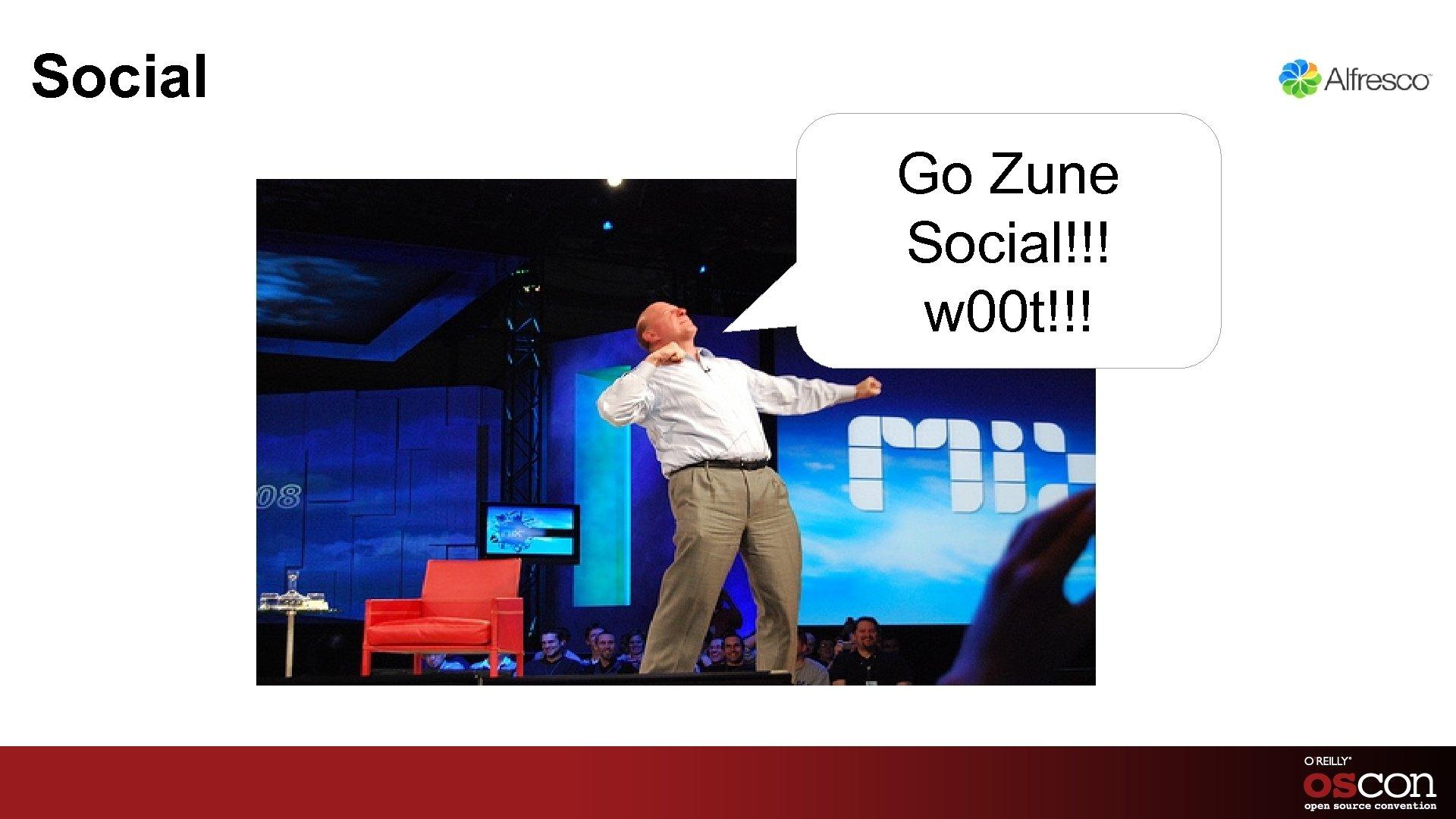 Social Go Zune Social!!! w 00 t!!!