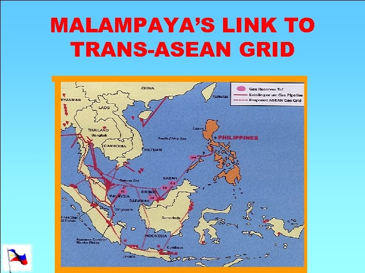 MALAMPAYA'S LINK TO TRANS-ASEAN GRID