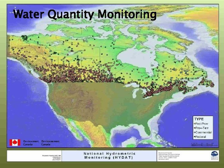 Water Quantity Monitoring Environment Canada Environnement Canada
