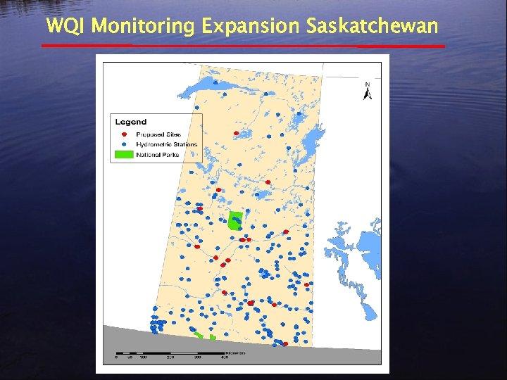 WQI Monitoring Expansion Saskatchewan