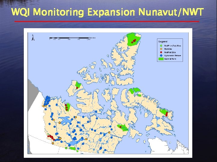 WQI Monitoring Expansion Nunavut/NWT