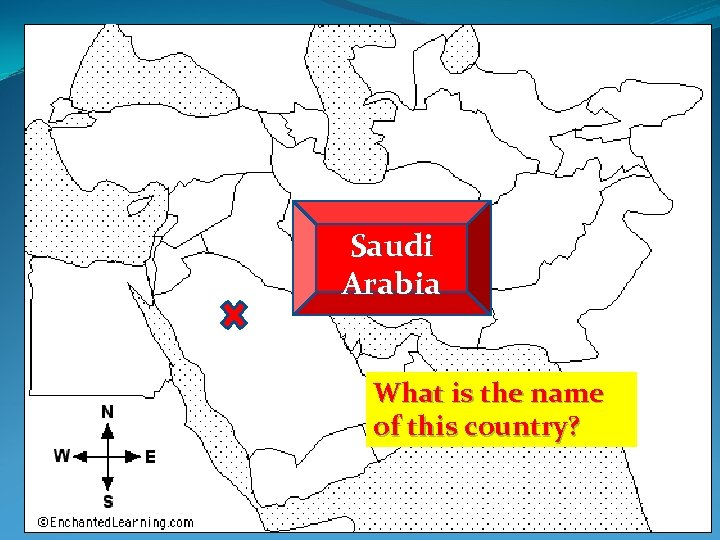 Saudi Arabia What is the name of this country?