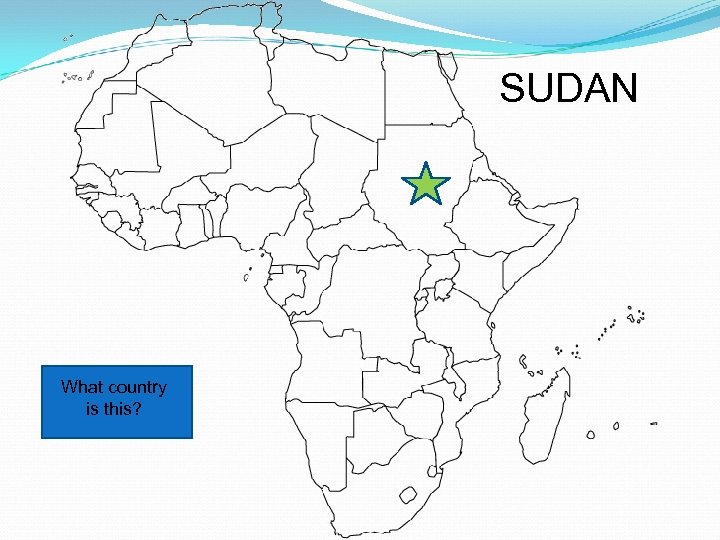 SUDAN What country is this?