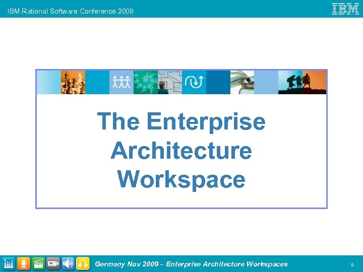 IBM Rational Software Conference 2009 The Enterprise Architecture Workspace Germany Nov 2009 – Enterprise