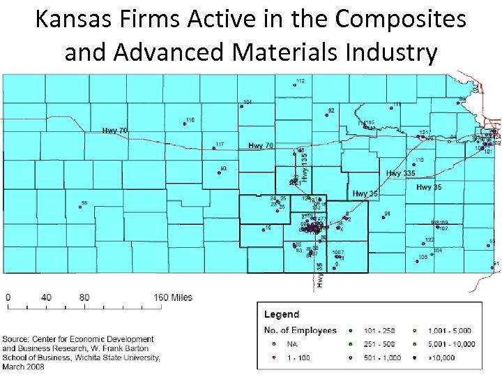 Kansas Firms Active in the Composites and Advanced Materials Industry