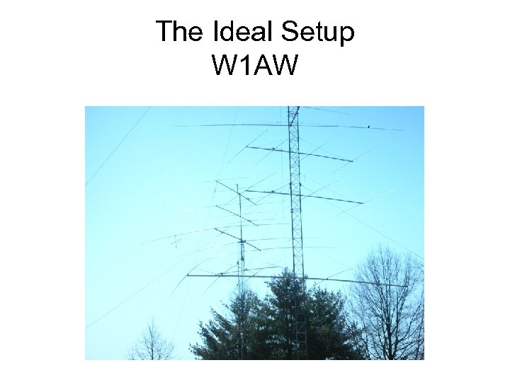 HF Antennas Especially stealth models for those in
