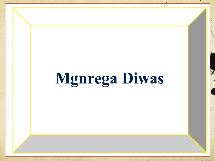 Mgnrega Diwas