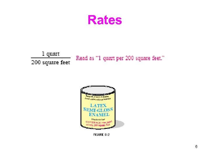 Rates 6
