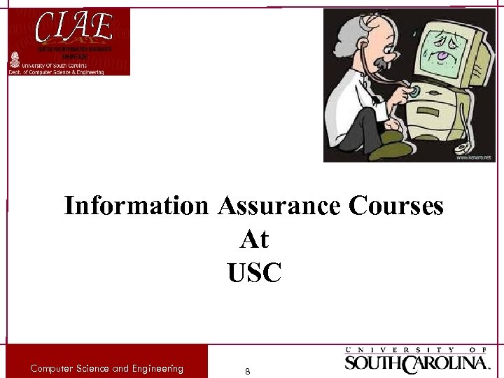 Information Assurance Courses At USC Computer Science and Engineering 8