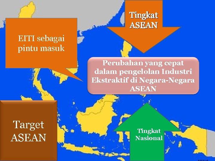 Tingkat ASEAN EITI sebagai pintu masuk Perubahan yang cepat dalam pengelolan Industri Ekstraktif di