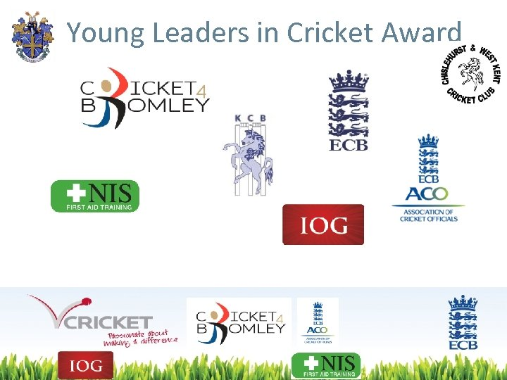 Young Leaders in Cricket Award