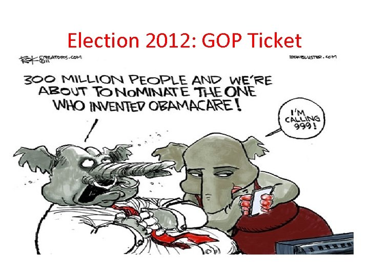 Election 2012: GOP Ticket