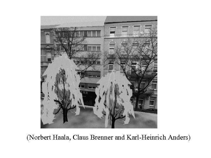 (Norbert Haala, Claus Brenner and Karl-Heinrich Anders)