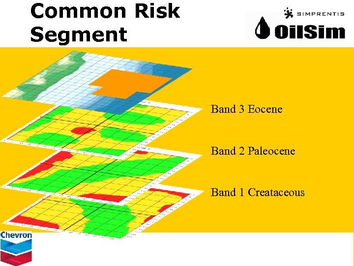 Common Risk Segment Band 3 Eocene Band 2 Paleocene Band 1 Creataceous