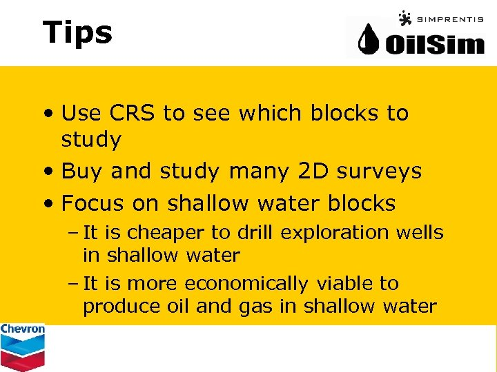 Tips • Use CRS to see which blocks to study • Buy and study