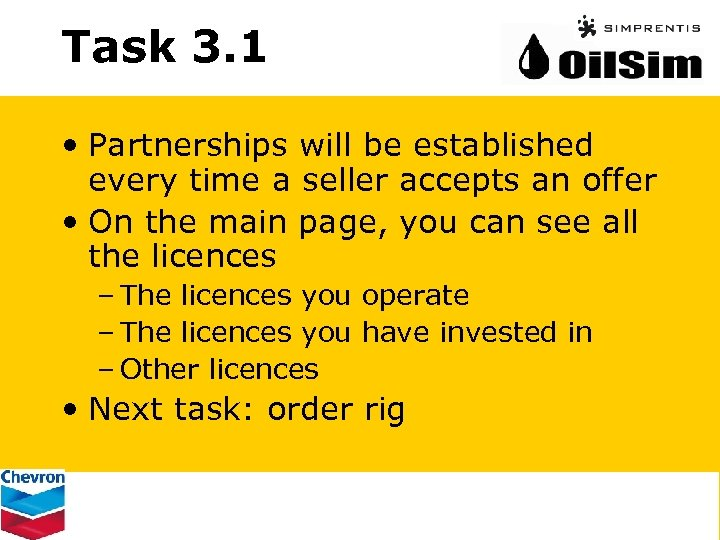Task 3. 1 • Partnerships will be established every time a seller accepts an